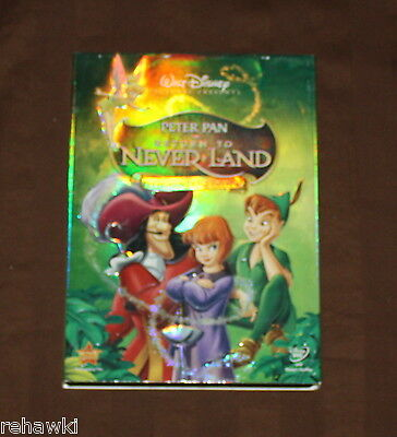 PETER PAN Return to Never Land (DVD, 2007) Pixie Powered Edition RARE DISNEY DVD