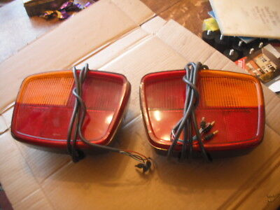 Bedford tk  cf  1975 - 86 Pair Rear lights   new old stock                  NOS