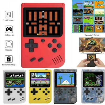 RS-6A Retro Mini Game Console 8-Bit 3.0 Inch Kids Game Player Built-in 168 Games
