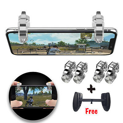PUBG Fortnite Mobile Phone Game Controller Fire Button Key Gamepad Trigger New