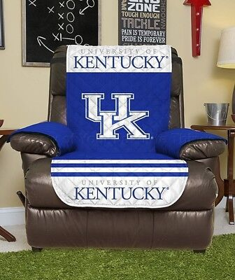 Kentucky Wildcats College Recliner Chair Cover Furniture Man Cave Home Decor