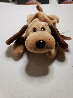 0df49272857 MWMT Ty Bones Beanie Baby Babies Original Retired Super Rare 1993 1994 Mint  Dog