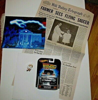 BACK TO THE FUTURE 3  REAL  CLOCK  PROP   DIFFERENT only a few in the world more