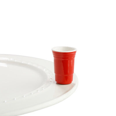 Nora Fleming Mini: Fill Me Up, Red Cup A144