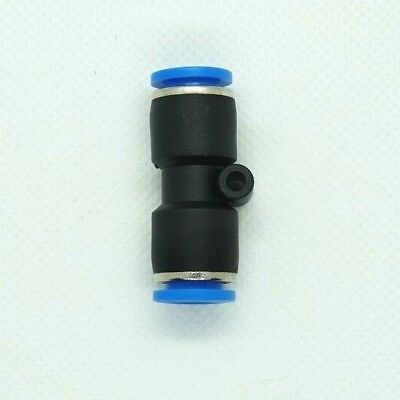 EQUAL STRAIGHT PUSH IN FITTING CONNECTOR pneumatic air fittings 6 mm. To 6 mm.