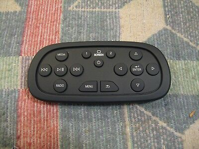 Chevrolet GM 84012997 Rear Entertainment DVD Remote Control