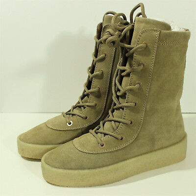 3bb841dd9 AUTHENTIC YEEZY SEASON 4 Oil Crepe Boots Kanye West Taupe SZ 40 (7 ...