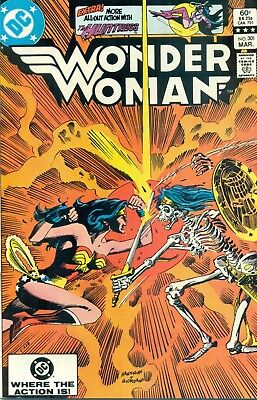 Wonder Woman #301 By Dan Mishkin Gene Colan Don Heck Huntress - JLA NM/M 1983