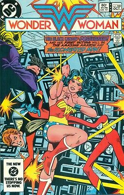 Wonder Woman #308 Mishkin Heck Black Canary Elongated Man Huntress JLA NM/M 1983