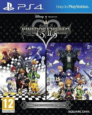 Kingdom Hearts HD 1.5 & 2.5 Remix PS4 Spiel NEU OVP Playstation 4
