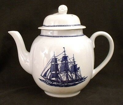 Wedgwood Georgetown Collection American Clipper teapot 'Ann McKim 1833'