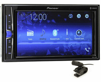 "Pioneer Mvh210Ex 6.2"" Screen Bluetooth Touchscreen Multimedia Usb Aux 13 Band Eq"