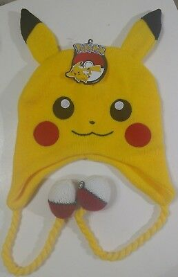 b560962167c NEW Pokemon Pikachu Beanie Hat Laplander   FREE SHIP