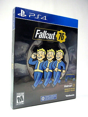 Fallout 76 - Steelbook Edition Playstation 4, PS4 BRAND NEW & SEALED