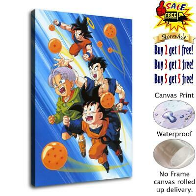 Manga Dragon Ball HD Canvas Print Painting Home Decor room Wall Art Picture 4641