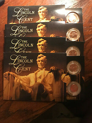2009 Bicentennial Lincoln Cent Year Set of 4 #2217