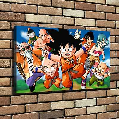 Dragon Ball Z HD Canvas Print Painting Home Decor room Wall Art Picture 124817