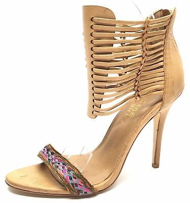 7d0bb1f43c8 Women s Shoes Kendall   Kylie Madden Girl Demiie Heels Beige Leather Size 8  M