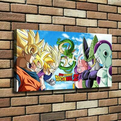 Dragon Ball Z HD Canvas Print Painting Home Decor room Wall Art Picture 124825