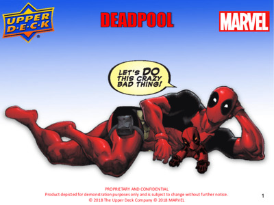 2019 Upper Deck Deadpool Parallel Trading Cards Black or Pink Pick From List