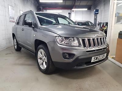 2012 JEEP COMPASS CRD SPORT PLUS Grey Manual Diesel