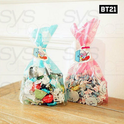 BTS BT21 Official Authentic Goods Gift Bag Medium 2Type SET By Kumhong Fancy