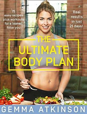 The Ultimate Body Plan by Gemma Atkinson New Paperback Book