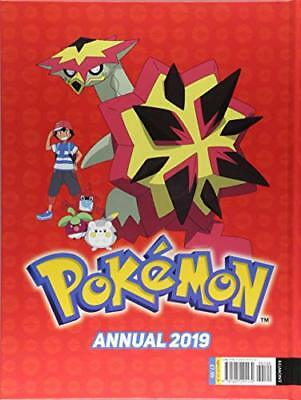 The Official Pokemon Annual 2019 (Ann by Egmont Publishing UK New Hardcover Book