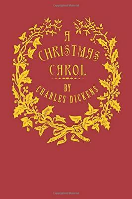 A Christmas Carol [Illustrated]: Being a G by Charles Dickens New Paperback Book