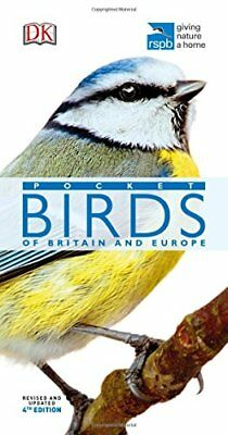 RSPB Pocket Birds of Britain and Europe by DK New Paperback Book