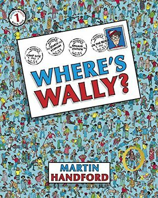 Where's Wally? by Martin Handford New Paperback Book