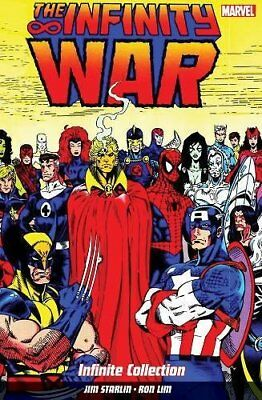 Infinity War: Infinite Collection by Jim Starlin;Ron Lim New Paperback Book