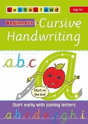 Beginners Cursive Handwriting (Letterland) by Lisa Holt New Paperback Book