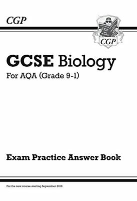 New GCSE Biology: AQA Answers (for Exam Practice by CGP Books New Paperback Book