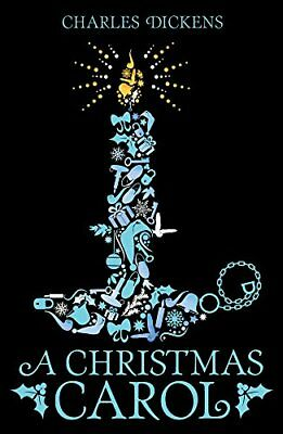 A Christmas Carol (Scholastic Classics) by Charles Dickens New Paperback Book