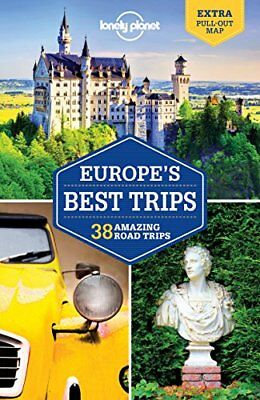 Europe's Best Trips: 40 Amazing Road Trips ( by Lonely Planet New Paperback Book