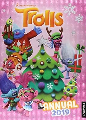 Trolls Annual 2019 (Annuals 2019) by Egmont Publishing UK New Hardcover Book