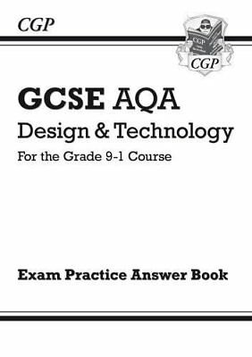 New Grade 9-1 GCSE Design & Technology AQA Answe by CGP Books New Paperback Book