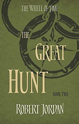 The Great Hunt: Book 2 of the Wheel of Time by Robert Jordan New Paperback Book