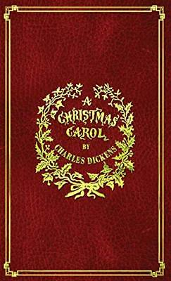 A Christmas Carol: With Original Illustrat by Charles Dickens New Hardcover Book