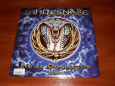 Whitesnake Live AT Donington 1990 3 LP Frontiers Records ‎– FR LP 516 New Sealed