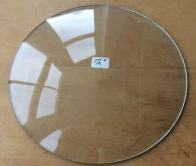 """Vintage Grandfather / Mantle Clock Convex Replacement Glass 7 1/2"""" 190.5mm"""