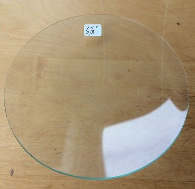 """Vintage Grandfather / Mantle Clock Convex Replacement Glass 6 1/8"""" 155.6mm"""
