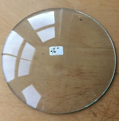 """Vintage Grandfather / Mantle Clock Convex Replacement Glass 6 1/4"""" 158.8mm"""