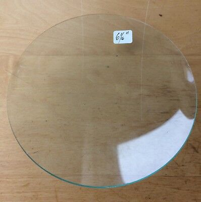 """Vintage Grandfather / Mantle Clock Convex Replacement Glass 6  1/16"""" 154.0mm"""