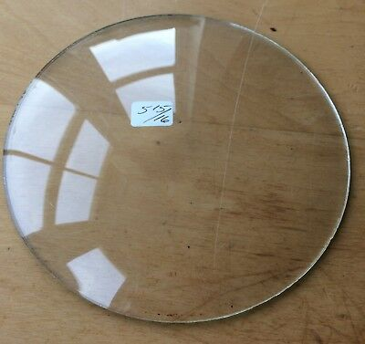"""Vintage Grandfather / Mantle Clock Convex Replacement Glass 5 15/16"""" 150.8mm"""