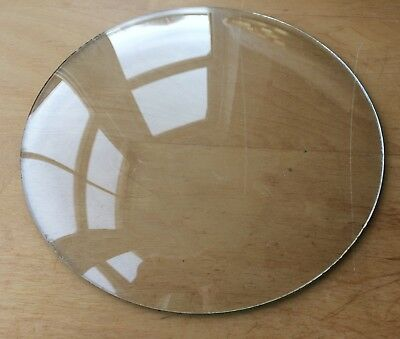 """Vintage Grandfather / Mantle Clock Convex Replacement Glass 7 15/16"""" 201.6mm"""