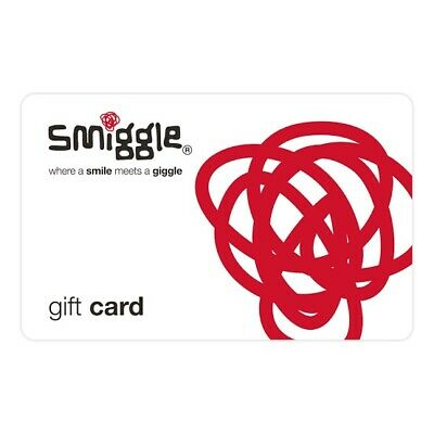 Unused $70 Smiggle Gift Card