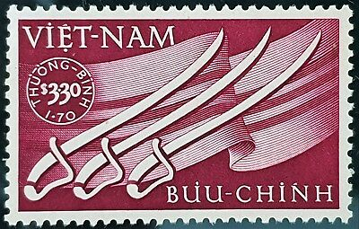 Vietnam 1952 Sc # B2 Wounded Soldiers Aid Semi Postal Mint MNH Stamp