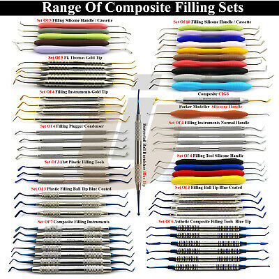 Titanium Coated Range Of Dental Composite Filling Instruments Restorative Scaler